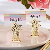 Kate Aspen Gold Pineapple Place Card Holders (Set of 6)