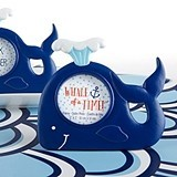 Kate Aspen Nautical-Themed Smiling Whale with Water Spout Frame