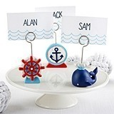 Kate Aspen Nautical-Themed Place Card Holders (Assorted Set of 6)