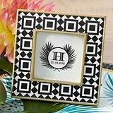 "Kate Aspen Stylish ""Tropical Chic"" Tile Patterned Frame"
