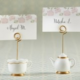 "Kate Aspen ""Tea Time Whimsy"" Place Card Holders (Set of 6)"