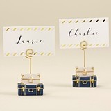 Kate Aspen Stacked Suitcases Design Place Card Holders (Set of 6)