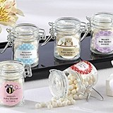 Kate Aspen Adorable Personalized Baby Shower Favor Jars (Set of 12)