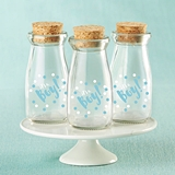 Kate Aspen It's a Boy! Polka Dot Vintage Milk Bottle Jars (Set of 12)