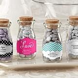Kate Aspen Nostalgic Personalized Milk Bottle Jars (Set of 12)