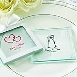 Kate Aspen Stylish Personalized Glass Coasters (Set of 12)