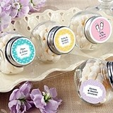 Kate Aspen Charming Personalized Screw-Top Glass Jars (Set of 12)