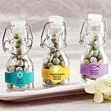 Personalized Mini Swing-Top Bottles (Religious Designs) (Set of 12)