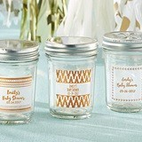 Kate Aspen Personalized Mason Jars w/ Copper Foil Stickers (Set of 12)