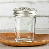 Kate Aspen 8 oz Glass Mason Jars with Choice of Lids - DIY (Set of 12)