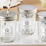 "Personalized ""The Hunt is Over"" Mason Jars (Set of 12)"