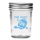 Kate Aspen The Hunt is On Vintage Printed Glass Mason Jars (Set of 12)