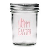 Kate Aspen 'Hoppy Easter' Vintage Printed Glass Mason Jars (Set of 12)