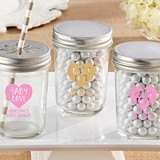 Kate Aspen Personalized Mason Jars with Baby Love Design (Set of 12)
