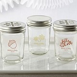 Kate Aspen Personalized Mason Jars w/ Fall-Themed Designs (Set of 12)