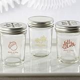 Kate Aspen Personalized Mason Jars w/ Fall-Themed Designs (Set of 12)