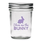 Kate Aspen 'Show Me the Bunny' Printed Glass Mason Jars (Set of 12)