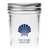 Kate Aspen Personalized Seashell Design Mason Jars (Set of 12)