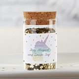 Kate Aspen Enchanted Party Personalizable Glass Tube Jars (Set of 12)