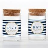 Kate Aspen Personalizable Glass Tube Jars - Nautical (Set of 12)