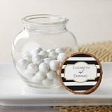 Kate Aspen Personalizable Glass Sphere Jars - Classic (Set of 12)
