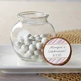 Kate Aspen 'So Sweet' Personalizable Glass Sphere Jars (Set of 12)