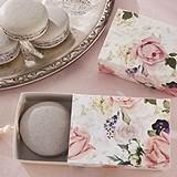 Kate Aspen English Garden Floral Slide Favor Box w/ Tassel (Set of 24)