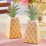 Kate Aspen Pineapple-Shaped Favor Boxes (Set of 24)
