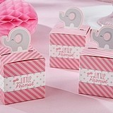 "Pop-Up Elephant ""Little Peanut"" Favor Boxes (Set of 24)"