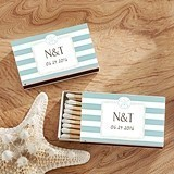 Kate Aspen Personalized Matchbooks - Beach Design (Set of 50)
