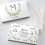 Kate Aspen Personalized Matchbooks - Botanical Garden (Set of 50)