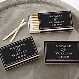 Kate Aspen Personalized Matchbooks - Chalkboard Motif (Set of 50)