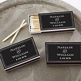 Kate Aspen Personalized Matchbooks - Chalkboard Motif (Set of 50)