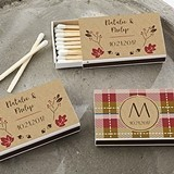 Kate Aspen Fall Designs Personalized Matchbooks (Set of 50)