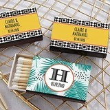 Kate Aspen Personalized Matchbooks - Tropical Chic Designs (Set of 50)