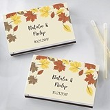 Kate Aspen Personalized Matchbooks - Fall Leaves Design (Set of 50)