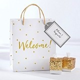 Kate Aspen Gold Foil Dot Welcome Bags (Set of 12)