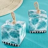Kate Aspen 'Tropical Chic' Palms Motif Favor Boxes (Set of 24)