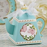 Kate Aspen 'Tea Time Whimsy' Teapot-Shaped Favor Boxes (Set of 24)