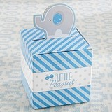 "Pop-Up Blue Elephant ""Little Peanut"" Favor Boxes (Set of 24)"