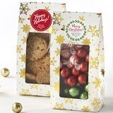 Kate Aspen Snowflake-Motif Holidays Treat Bags (Set of 12)