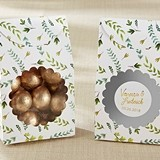 Kate Aspen Personalized Botanical Garden Tent Favor Boxes (Set of 12)