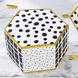 "Kate Aspen ""Modern Classic"" Hexagon Favor Boxes (Set of 12)"