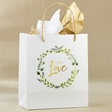 Kate Aspen 'With Love' Botanical Garden Design Gift Bags (Set of 12)
