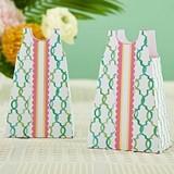Kate Aspen Colorful A-Line Sundress Design Favor Boxes (Set of 12)