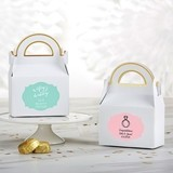 Kate Aspen Personalized Gable Favor Boxes - Wedding (Set of 12)