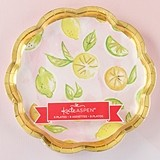 Kate Aspen Cheery and Chic Citrus Paper Plates (Set of 8)