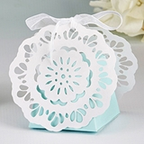 "Kate Aspen ""Something Blue"" Lace Favor Boxes (Set of 12)"