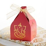 Kate Aspen Indian Jewel Ganesh Favor Boxes (Set of 12)