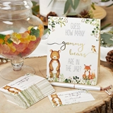 Kate Aspen Woodland Baby Advice Card & Baby Shower Game (Set of 50)